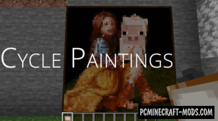 Cycle Paintings - Decor Mod For Minecraft 1.14.4, 1.13.2