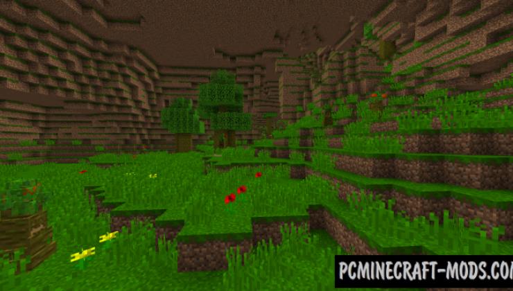 RaolCraft Ω - Adventure Biomes Mod For Minecraft 1.12.2