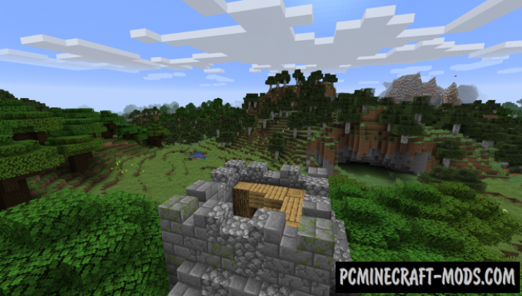 Dungeon Crawl - New Biome Mod For Minecraft 1.15.2, 1.14.4