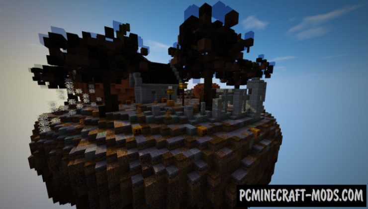 Halloween BedWars - PvP Map For Minecraft