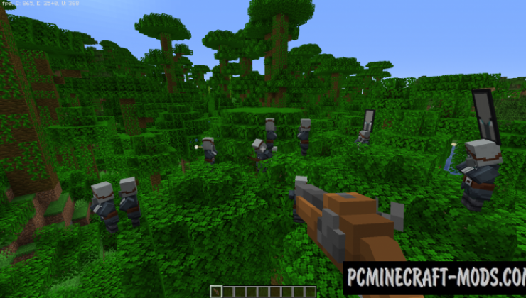 Pillager to Pirate 16x Resource Pack For Minecraft 1.14.4