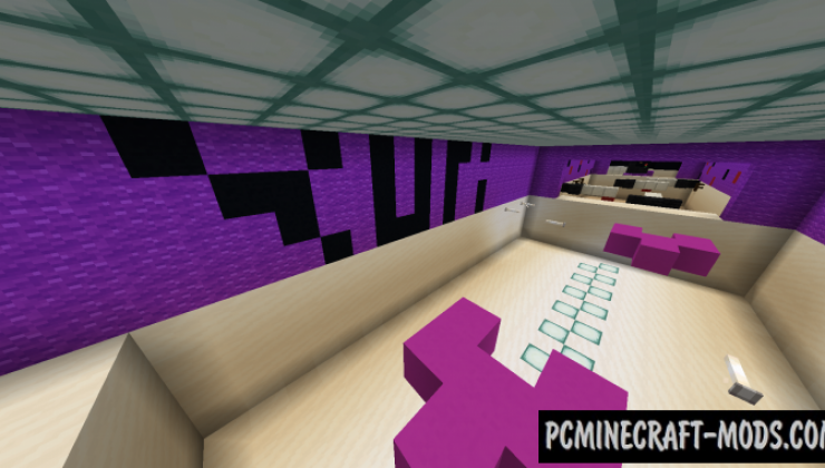 Doki Doki Literature Club - Parkour Map For Minecraft