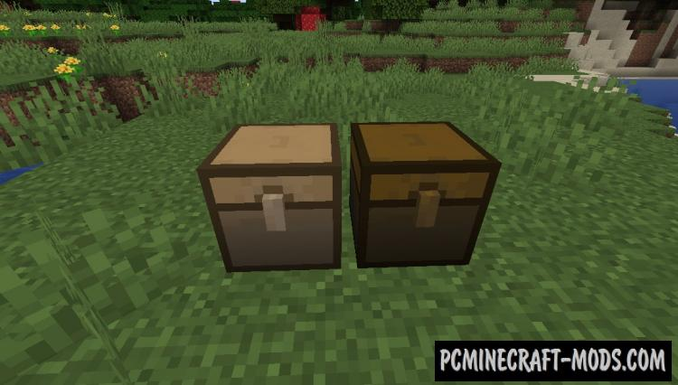 Meta Chests - New Blocks Mod For Minecraft 1.16.1, 1.15.2