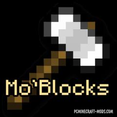 Mo'Blocks - Decorative Mod For Minecraft 1.14.4