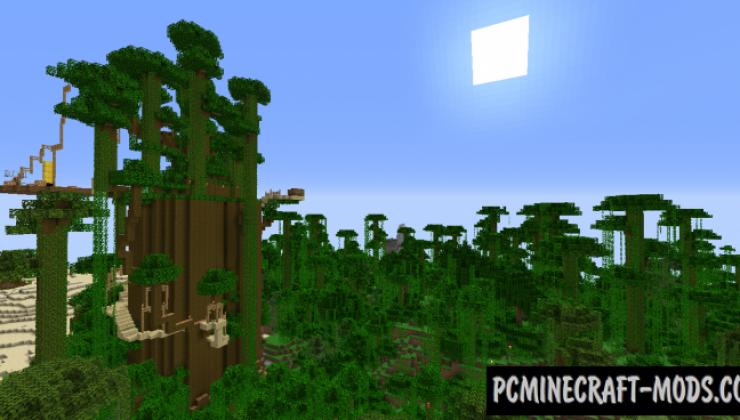 Wild Riders Island - Adventure Map For Minecraft
