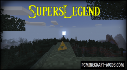 SupersLegend - Weapons, Magic Mod For Minecraft 1.16.5, 1.14.4