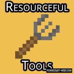 Resourceful Tools - Tweaks Mod For MC 1.17, 1.16.5, 1.16.4
