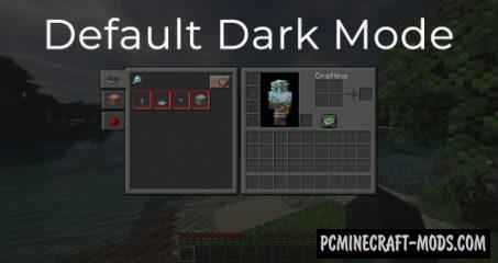 Default - 16x16 Dark Mode Resource Pack 1.16, 1.15.2