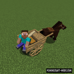 AstikorCarts - Horse Cart Mod For Minecraft 1.15.2, 1.14.4