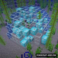Foam Dome - New Aquatic Blocks Mod 1.16.1, 1.15.2, 1.14.4