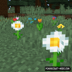 Random Bone Meal Flowers - Survival Mod MC 1.16.5, 1.12.2