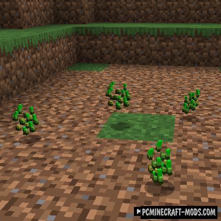 Grass Seeds - Tweak Mod For Minecraft 1.16.5, 1.12.2