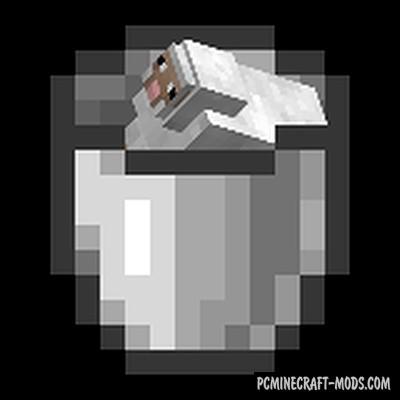 Get In The Bucket by PewDiePie - Tweak Mod For MC 1.16.4