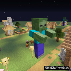 Giant Spawn - New Monsters Mod For MC 1.15.2, 1.14.4