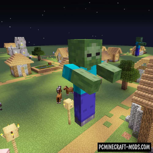 Giant Spawn - New Monsters Mod For MC 1.16.5, 1.12.2