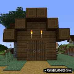 Double Doors - Door Tweak Mod For Minecraft 1.16.2, 1.15.2