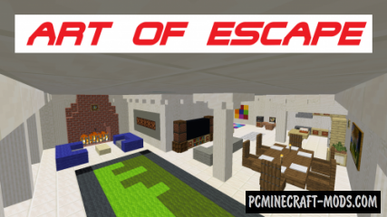 Art of Escape - Puzzle Map For Minecraft