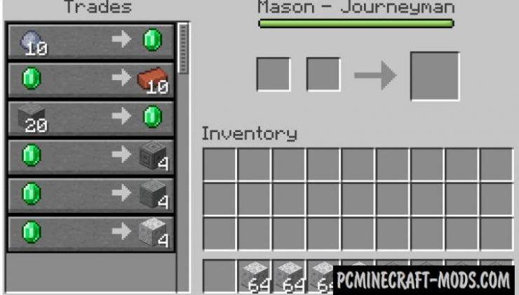 Infinite Trading - Trade Mod For MC 1.16.5, 1.16.4, 1.12.2