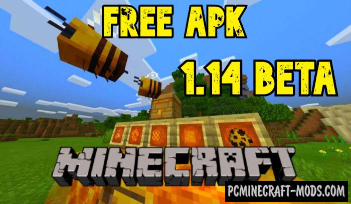 Download Minecraft Beta 1.14.0.1 Apk Bees Update Free