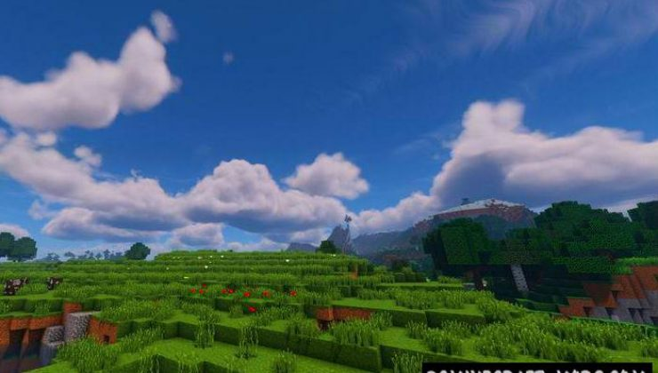 GLSL Realistic Physics Shaders For Minecraft 1.16.5, 1.16.4