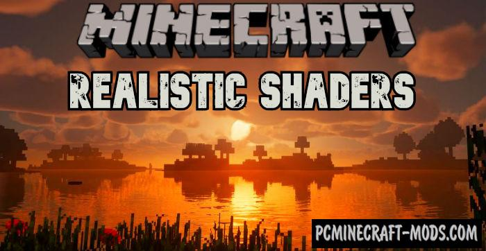 GLSL Realistic Physics Shaders For Minecraft 1.15, 1.14.4, 1.14