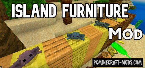 Island Furniture Minecraft Bedrock Mod 1.14, 1.13 iOS/Android