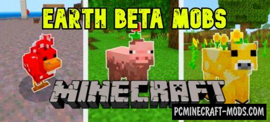 Minecraft Earth Beta - Mobs Mod For Minecraft PE 1.14, 1.13