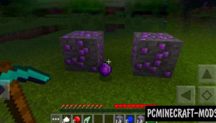 More Mobs, Weapons, Ores Mod For Minecraft PE 1.16, 1.14