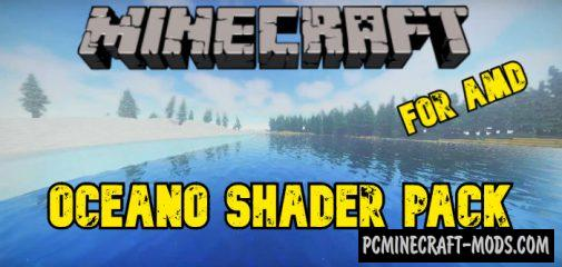 Oceano Shaders Pack For AMD Only MC 1.16.5, 1.16.4, 1.15.2