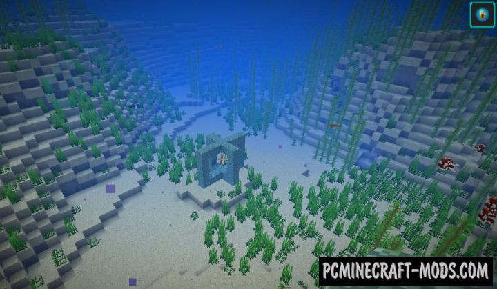 Conduits Prevent Drowned - Tweak Mod For Minecraft 1.14.4, 1.13.2