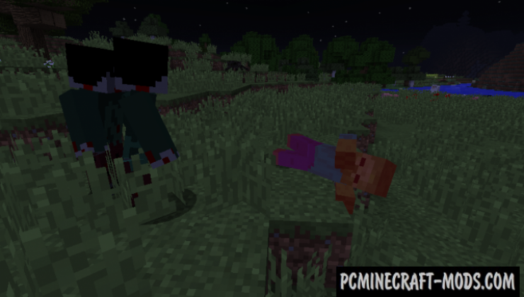 Scape and Run: Parasites - New Monsters Mod MC 1.12.2