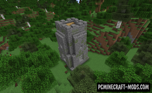 Dungeon Crawl - New Biome Mod For Minecraft 1.16.5