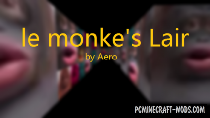 Le monke's Lair - Horror Map For Minecraft