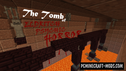 The Tomb of Eldritch Psychic Horror Map For Minecraft