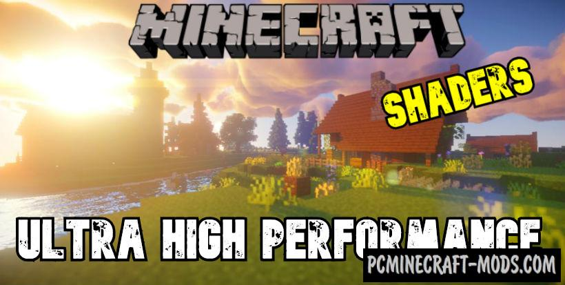 Ultra High Performance Shaders For Minecraft 1.16.5, 1.16.4