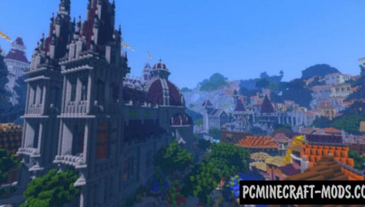 Windom Intel Shaders Pack For Minecraft 1.16.4, 1.16.3, 1.15.2