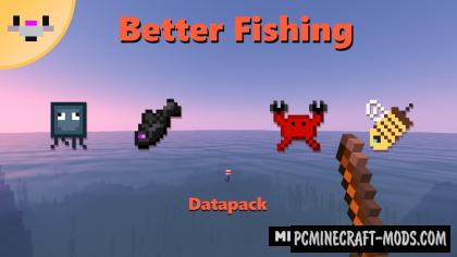 Better Fishing Data Pack For Minecraft 1.14.4, 1.14