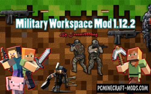 Military Workspace - Gun Mod For Minecraft 1.12.2