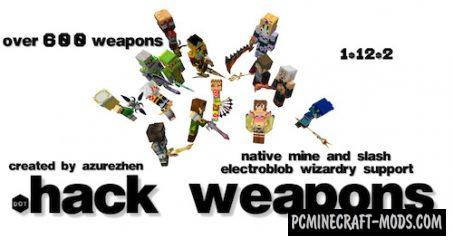 dotHack Forge - Guns, Weapons Mod For MC 1.15.2, 1.14.4