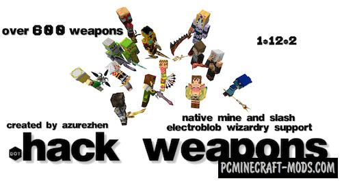 dotHack Forge - Guns, Weapons Mod For MC 1.16.5, 1.12.2
