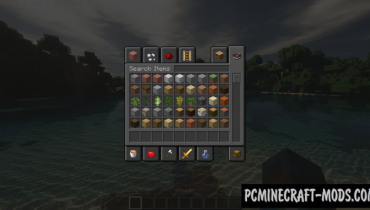 Default - 16x16 Dark Mode Texture Pack 1.16.4, 1.16.3, 1.15