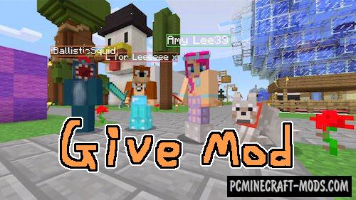 Give - Online Exchange GUI Mod For Minecraft 1.15.2, 1.14.4