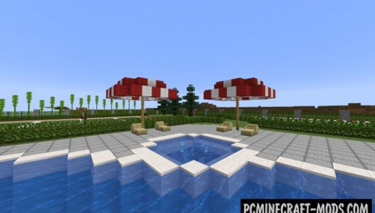 Survival House/Mansion Map For Minecraft