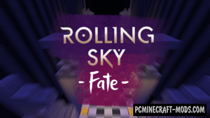 Rolling Sky - Fate Adventure, MiniGame Map For Minecraft