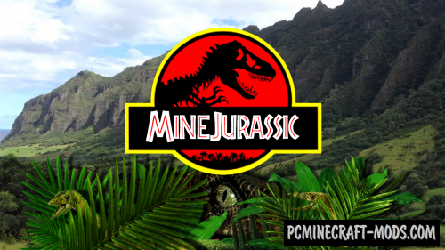 MineJurassic - Custom Creatures Mod For Minecraft 1.12.2