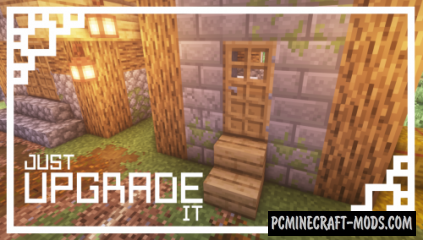 Just Upgrade It - 16x16 Resource Pack For Minecraft 1.14.4