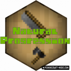 Natural Progression - Tweak Mod For Minecraft 1.15.2, 1.14.4