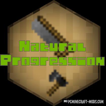 Natural Progression - Tweak Mod For Minecraft 1.16.5, 1.14.4