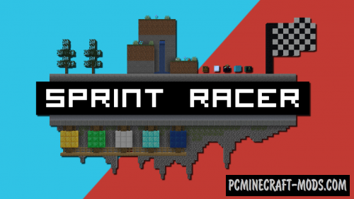 Sprint Racer - Mini Game Map For Minecraft