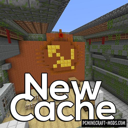 CS:GO Cache - PvP Map For Minecraft